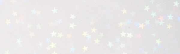 ホログラムフィルム(星)